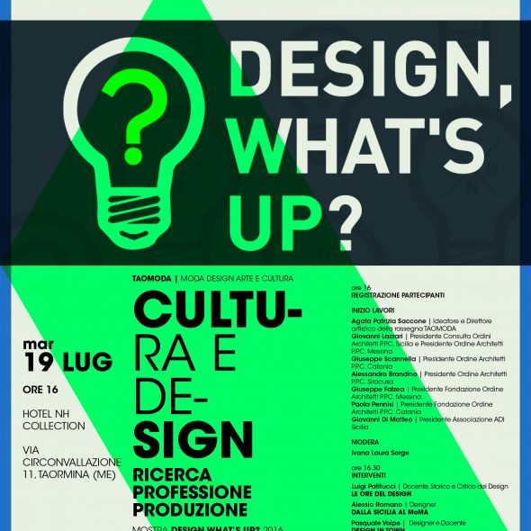 Design Whats up TAOMODA 2016
