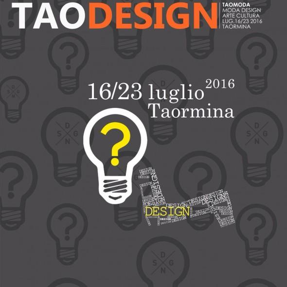 locandina taodesign 2016
